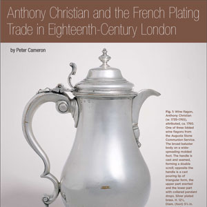 'FRENCH PLATED' BRASS [PART 1] : ANTHONY CHRISTIAN