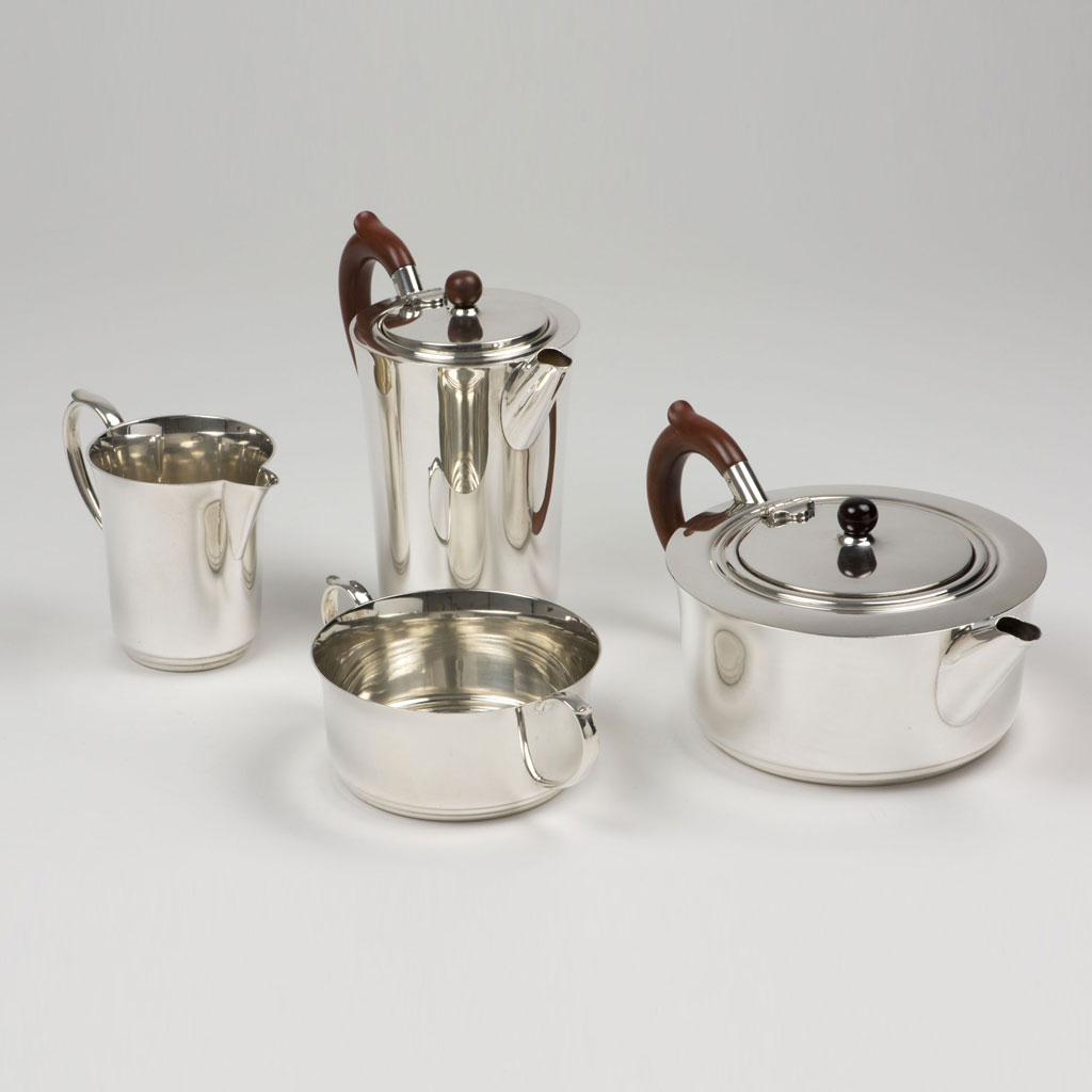 Mid-20th Century Four Piece Teaset