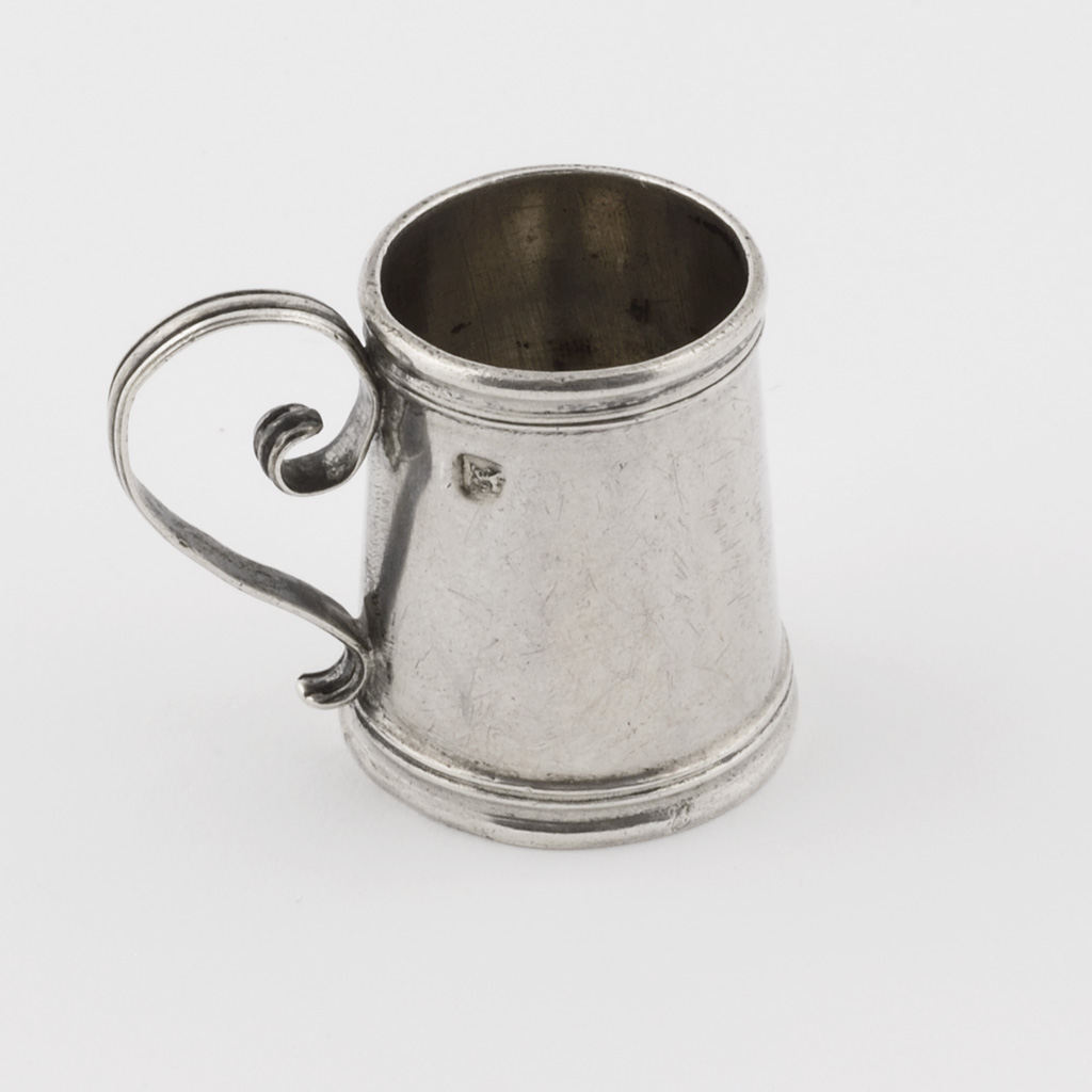 A George I Toy Silver Mug.