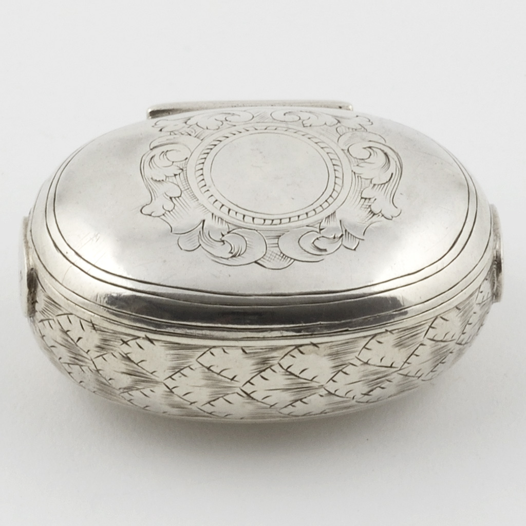 A Late 17th Century English Silver Box.
