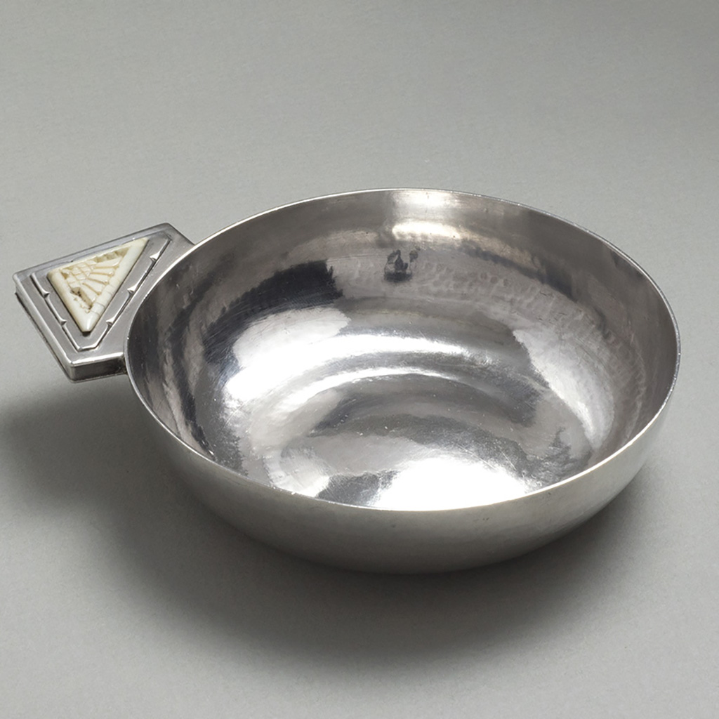 An Arts And Crafts Silver Bowl.