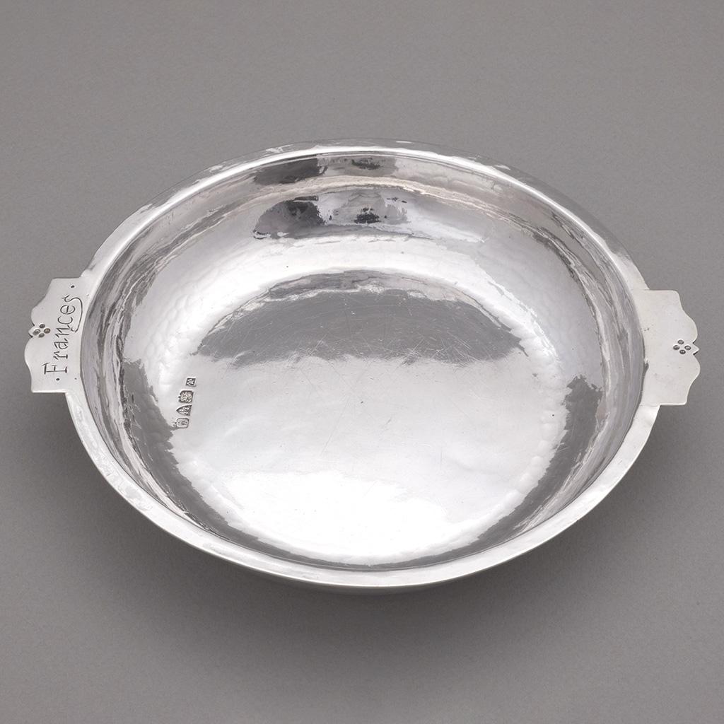 A Hugh Wallis Silver Dish.