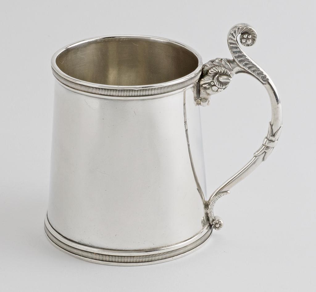 A Spanish Colonial Silver Mug.