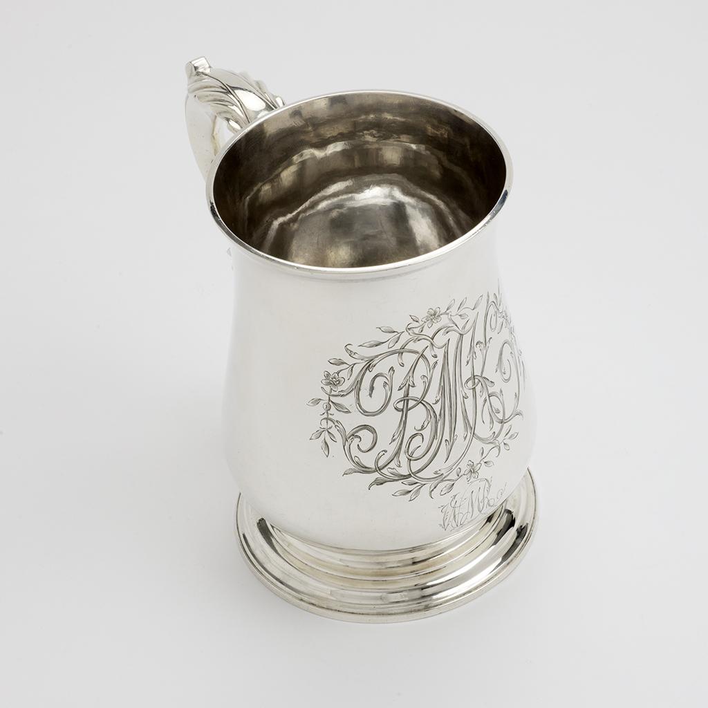 A George III Silver Quart Mug.