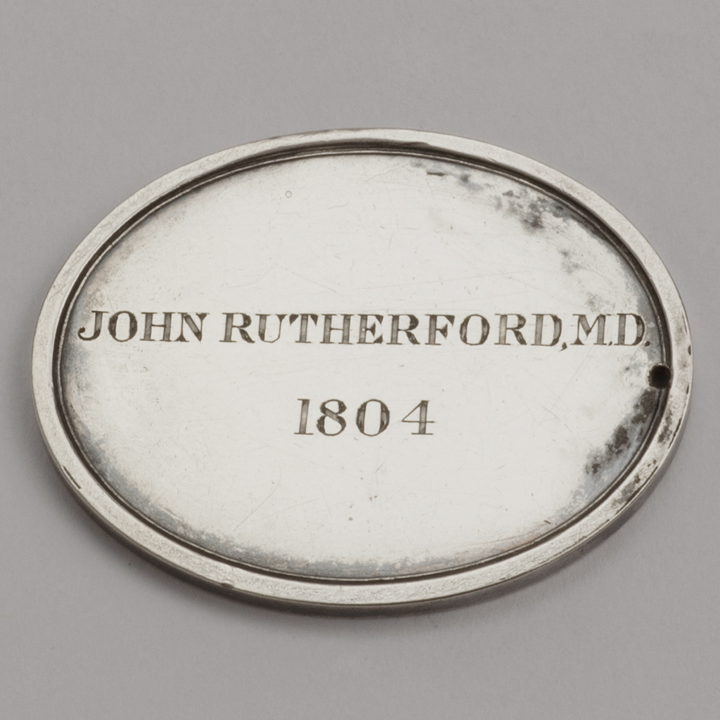 A Silver Medal From The Edinburgh Royal Society.