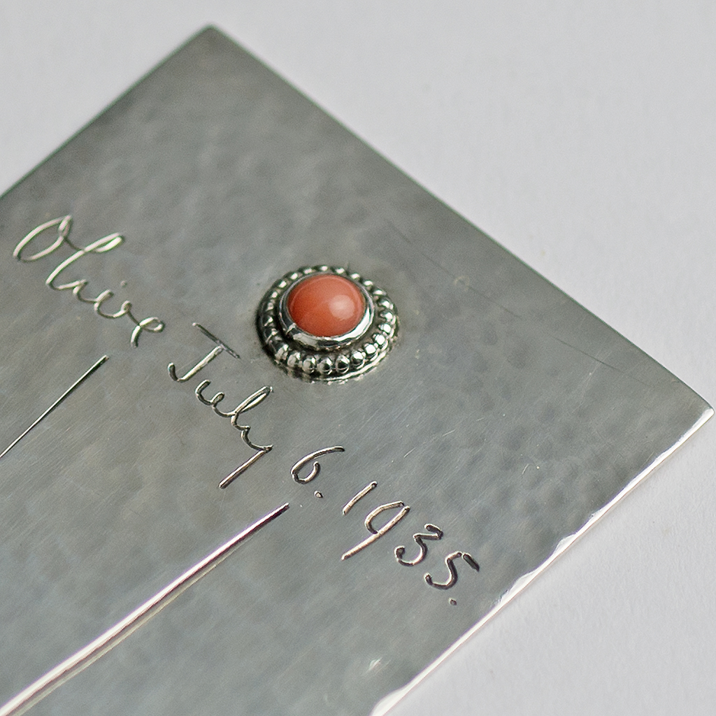 A Sybil Dunlop Arts And Craft Silver Bookmark