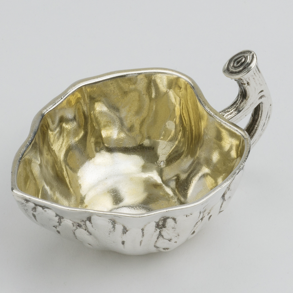 An Unusual Victorian Silver Cream Jug.