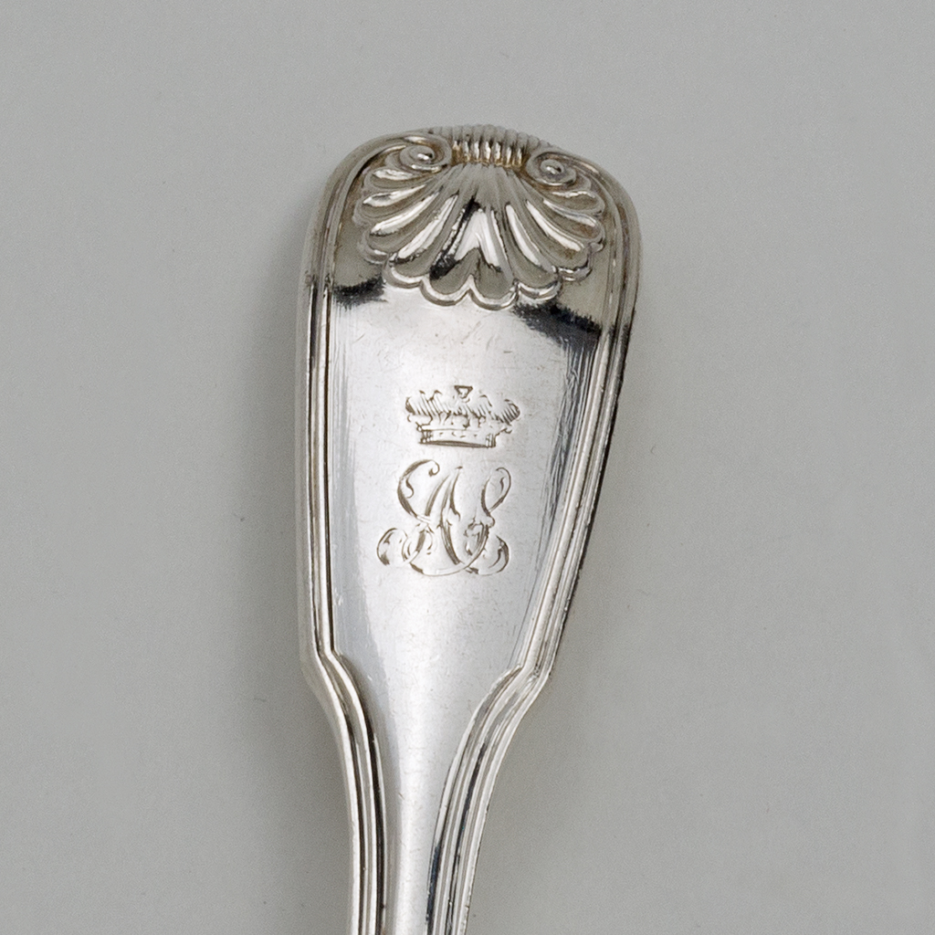 Princess Augusta's Silver Butter Knife