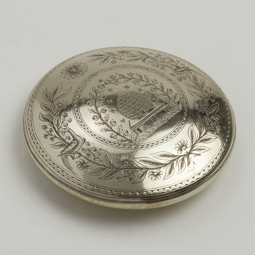 An Early 19th Century Nickel Allow Snuffbox.