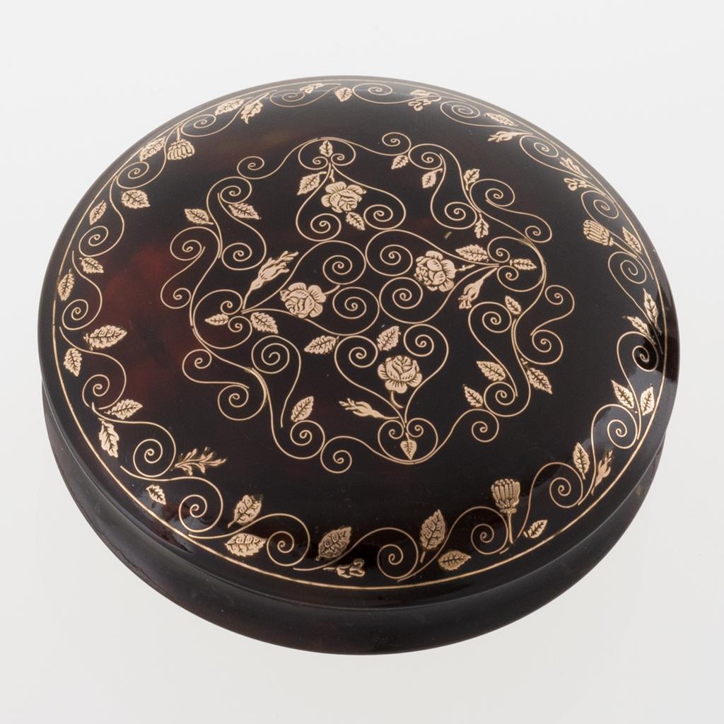 A Late 18th Century Tortoiseshell Snuffbox.
