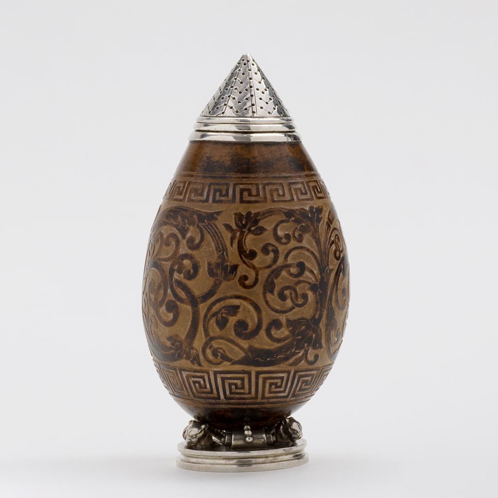 A Carlo Giuliano Pepper Pot.