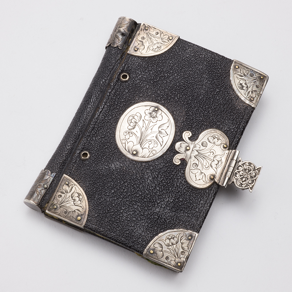 A 17th Century Silver-mounted Note Case.