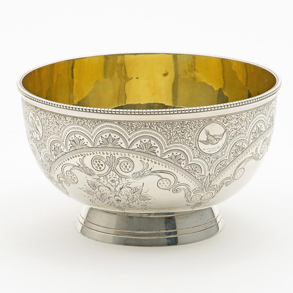 A Small Victorian Silver Bowl.