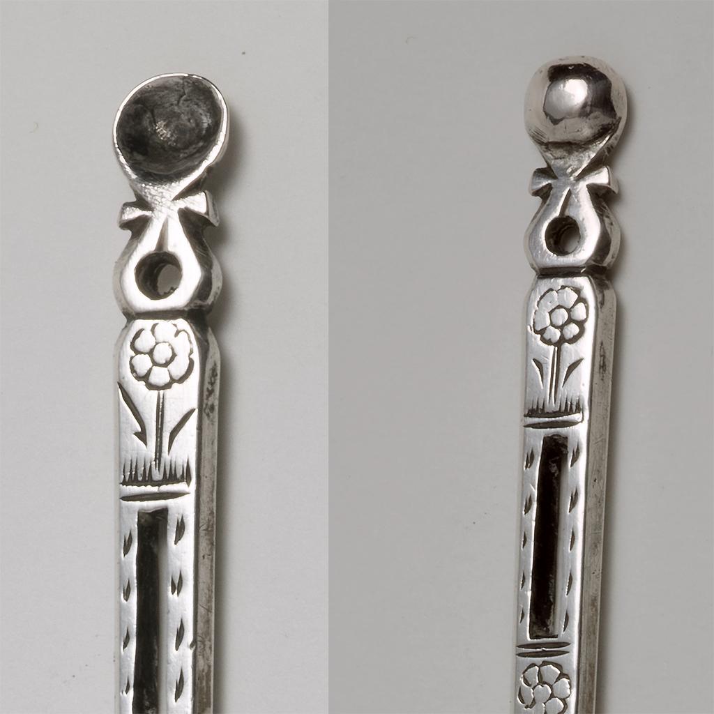 A 17th Century Silver Bodkin.