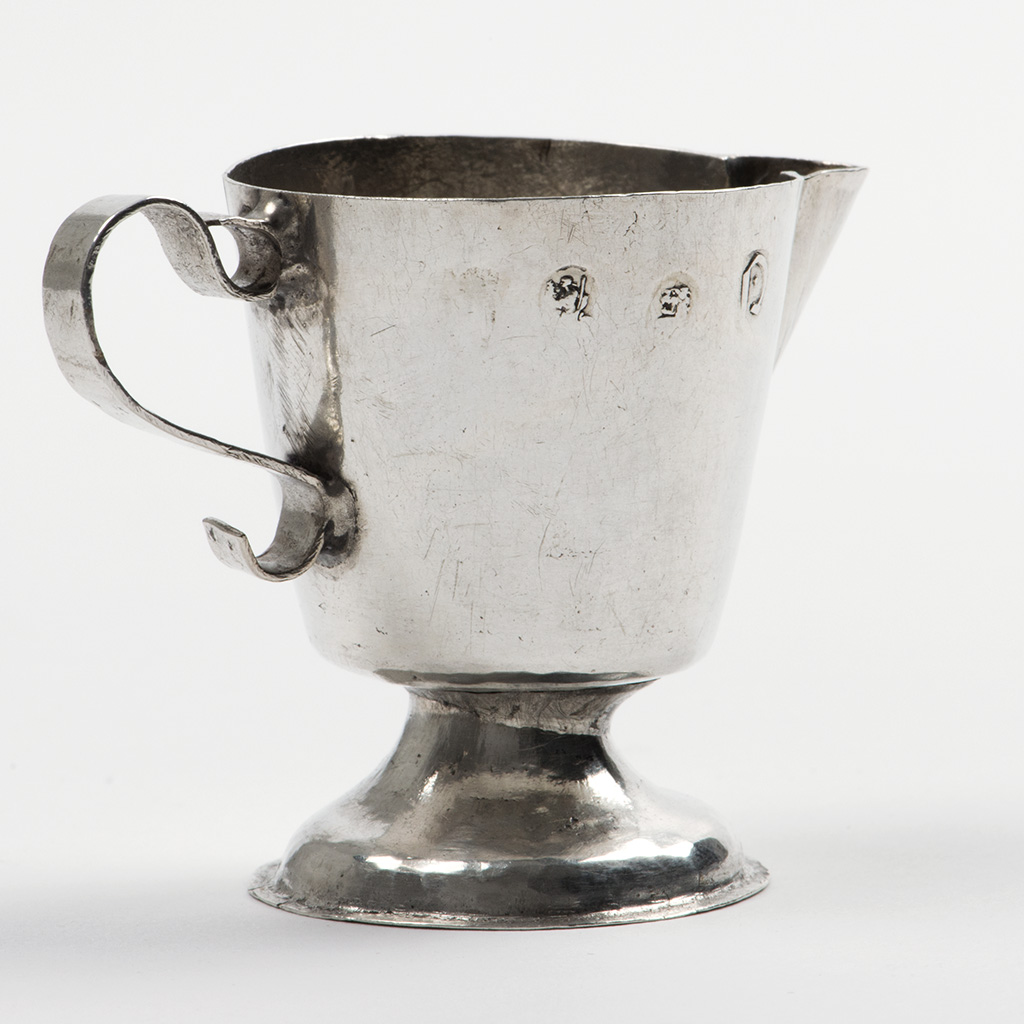 A Rare Queen Anne Toy Silver Ewer.