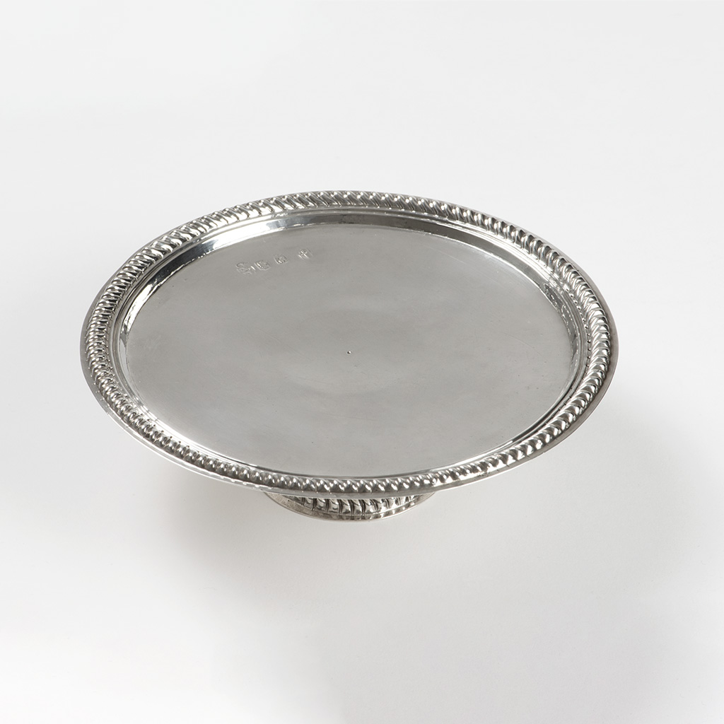 A William III Silver Tazza From Newport, On The Isle Of Wight.