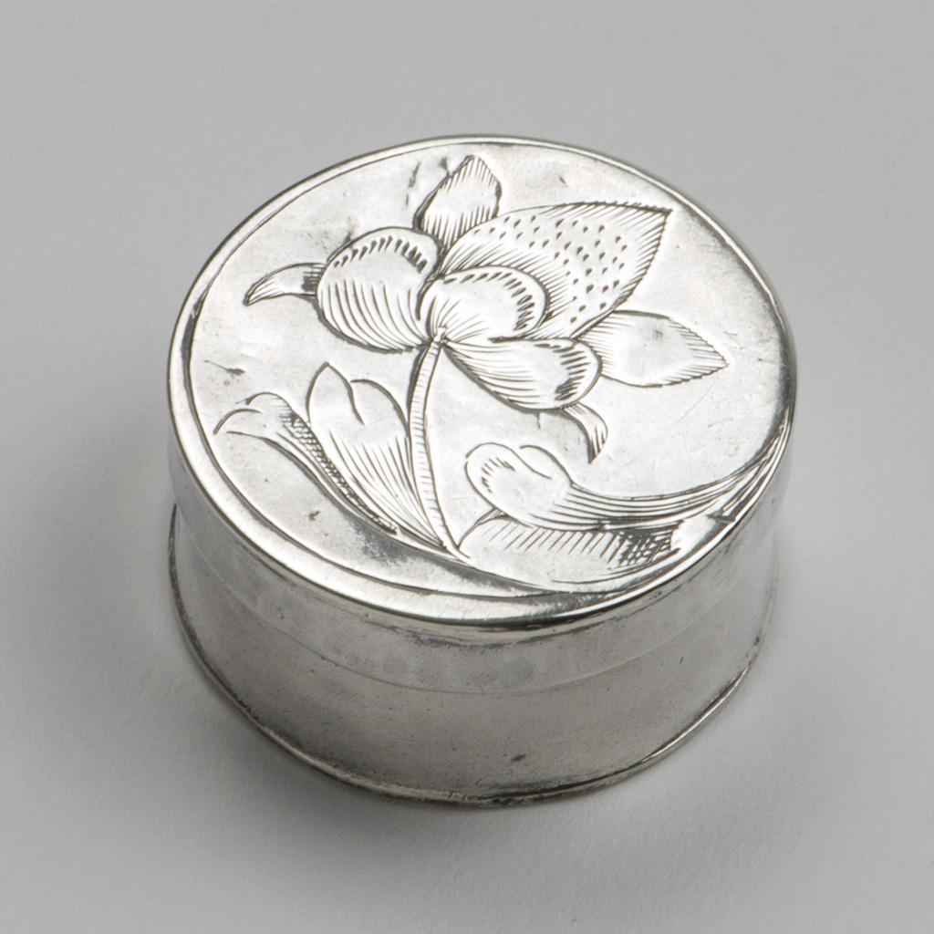 A William III Small Silver Box.