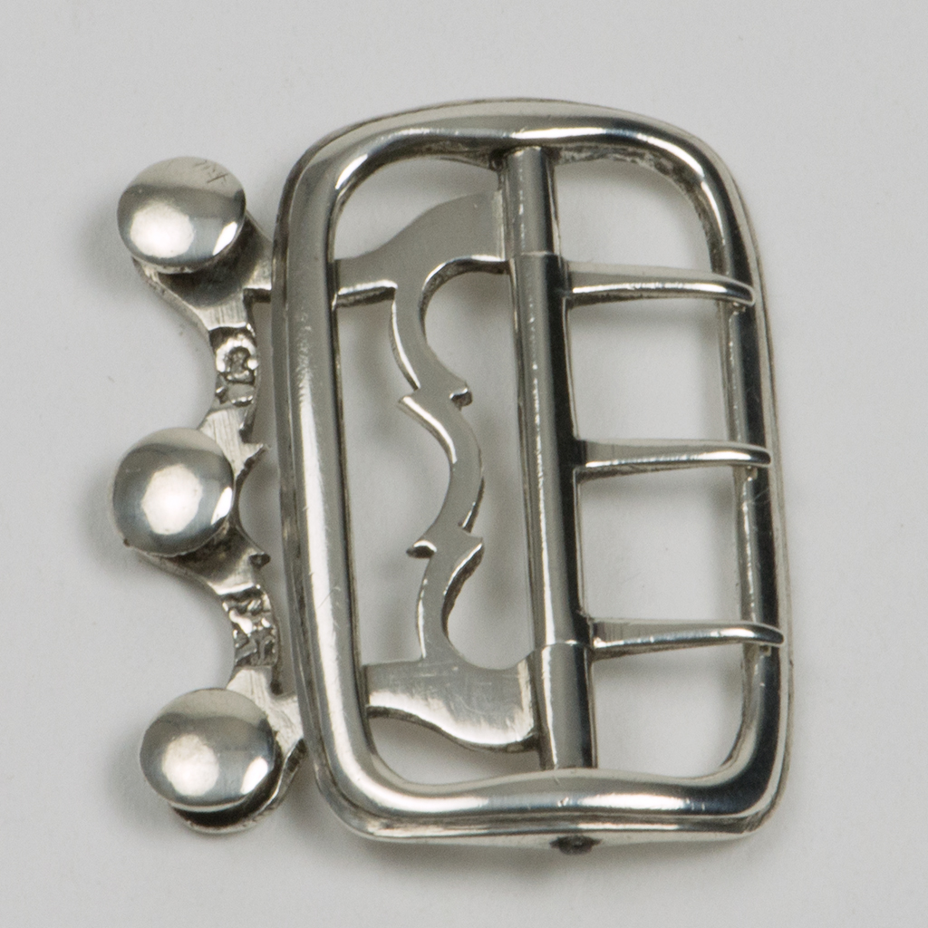 A George II Silver Cravat Buckle.