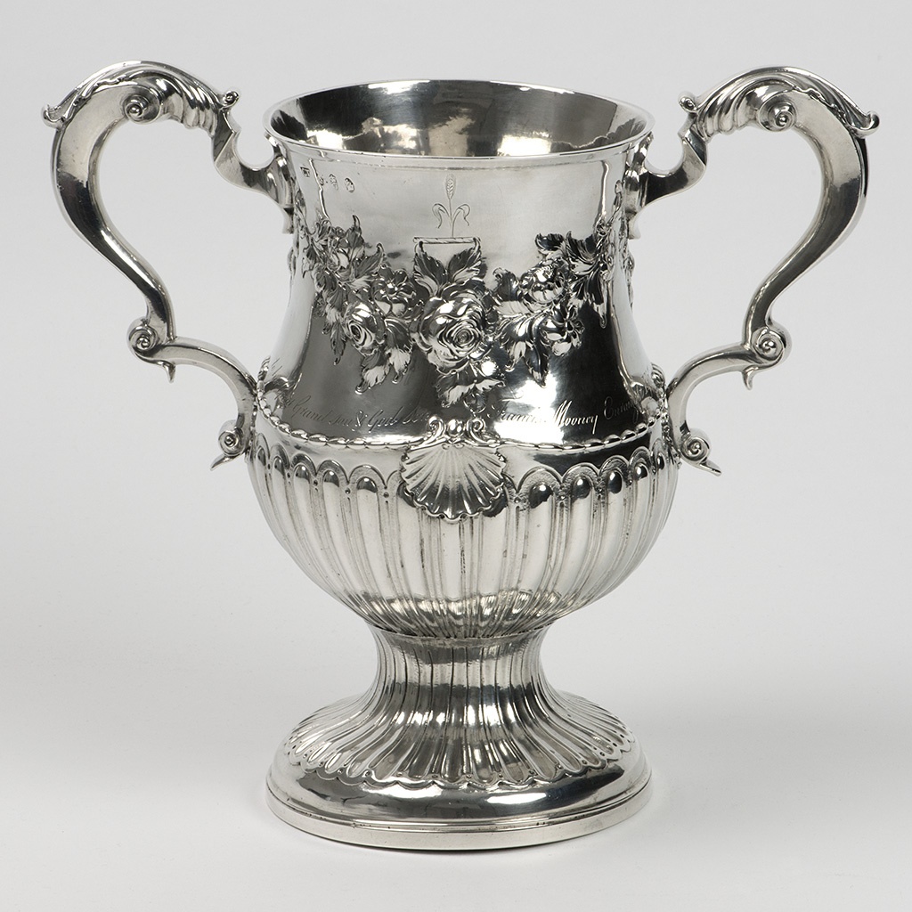 A George III Irish Silver Cup Given As A Gift From A Godmother.