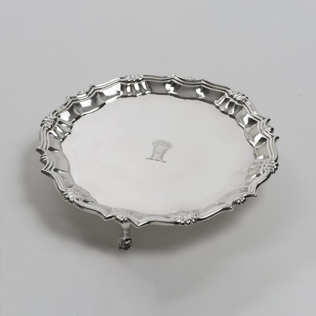 A George II Silver Waiter.