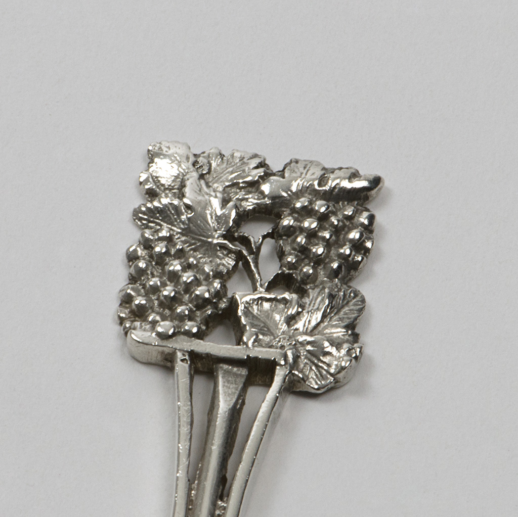 An Arts And Crafts Silver Spoon By Amy Sandheim.
