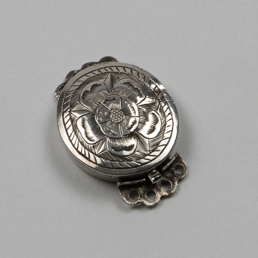 An Early 18th Century English Silver Clasp.