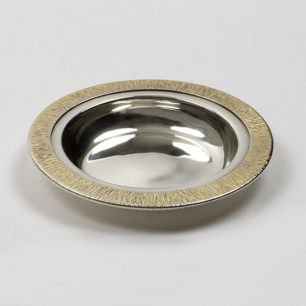 A 1970's Small Silver Dish.