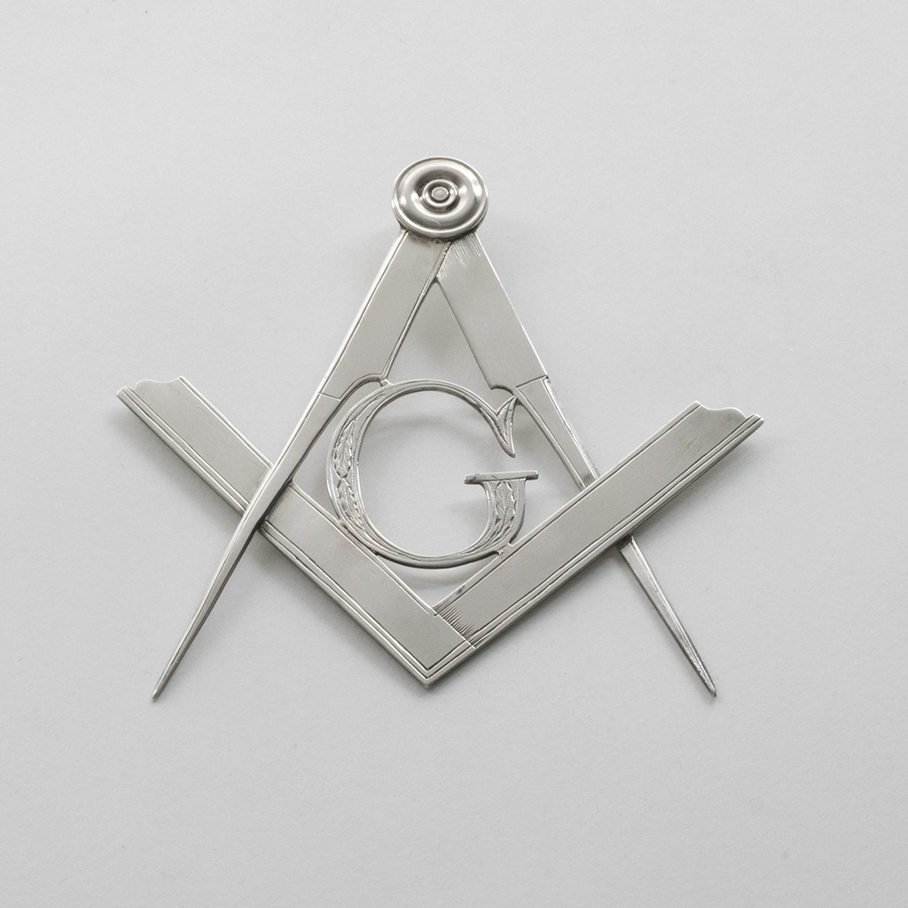 A Rare Scottish Provincial Silver Masonic Jewel.