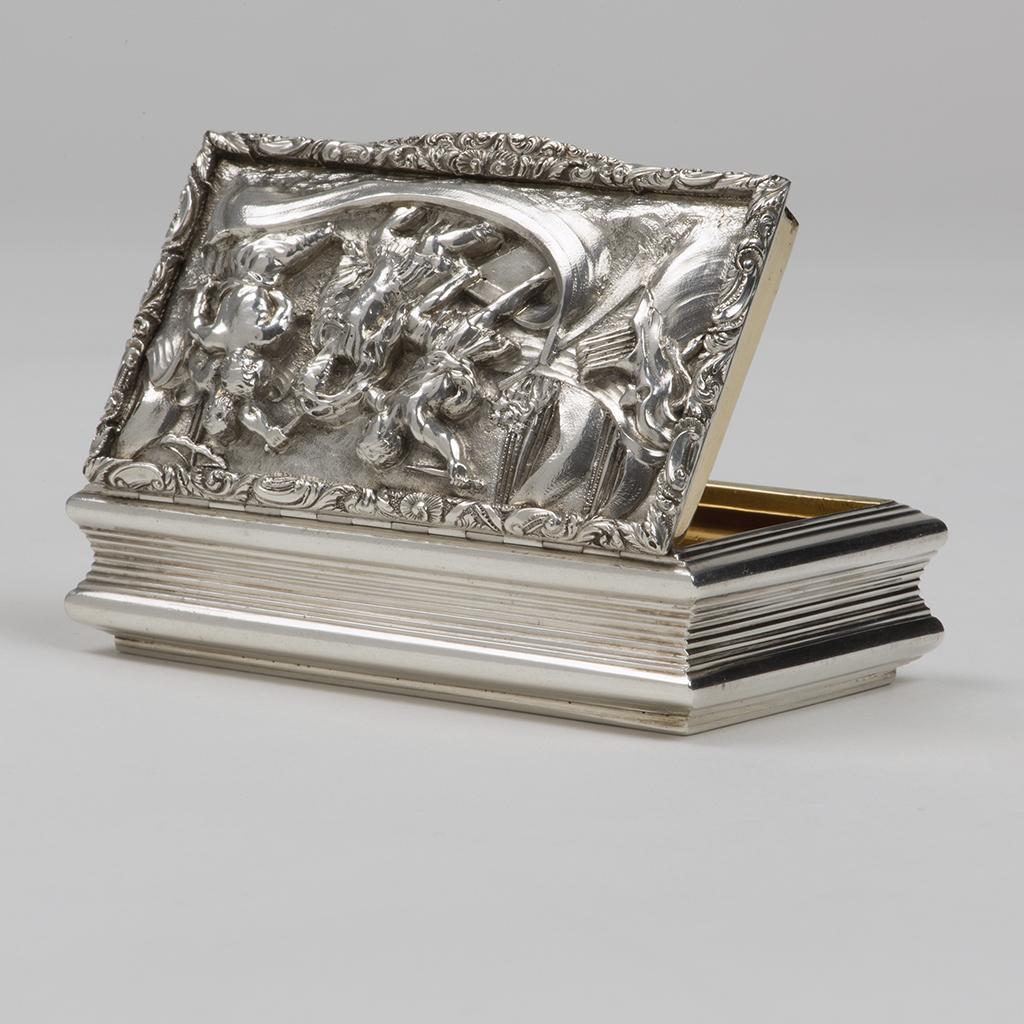 A William IV Silver Snuffbox.