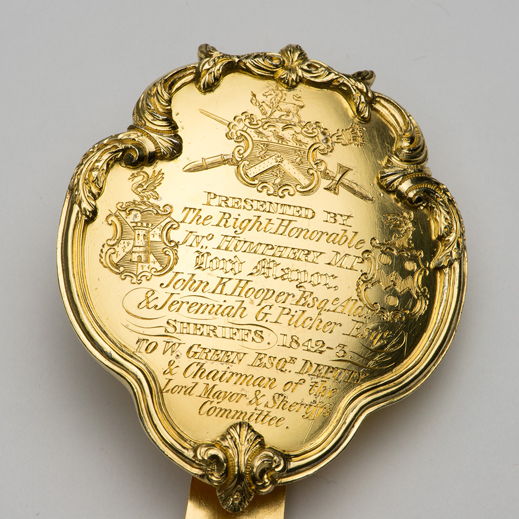 A Victorian Silver-gilt Badge For The Chairman Of The City Of London Lord Mayor's Committee.