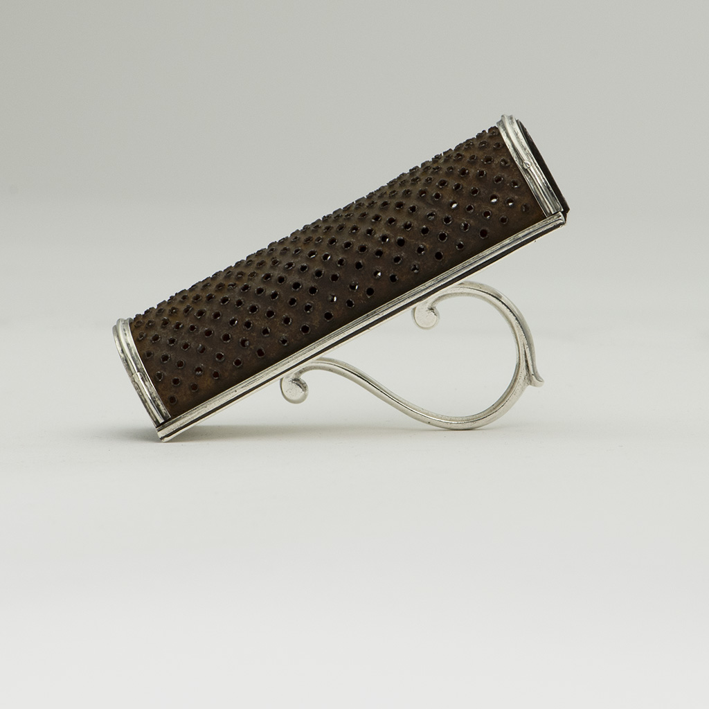 A George III Silver Kitchen Nutmeg Grater.