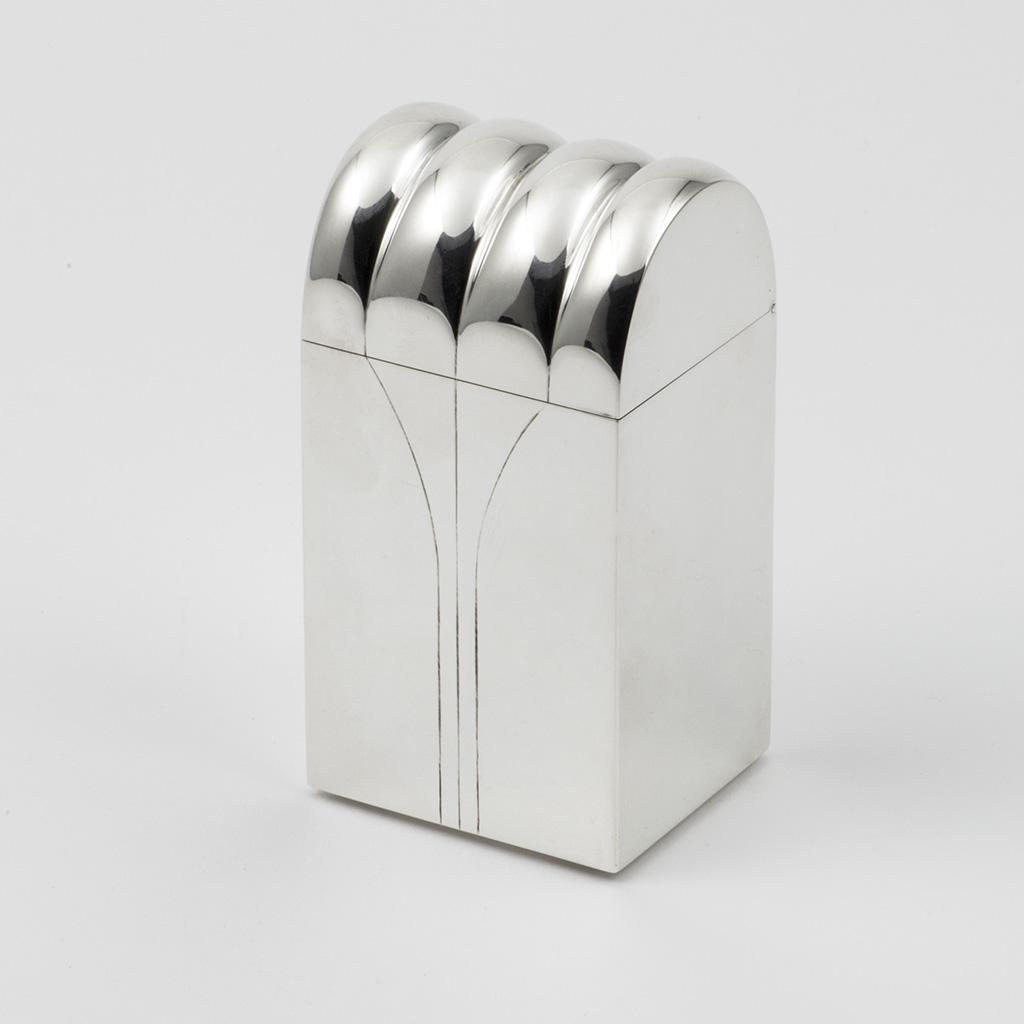 A 20th Century Silver Box.