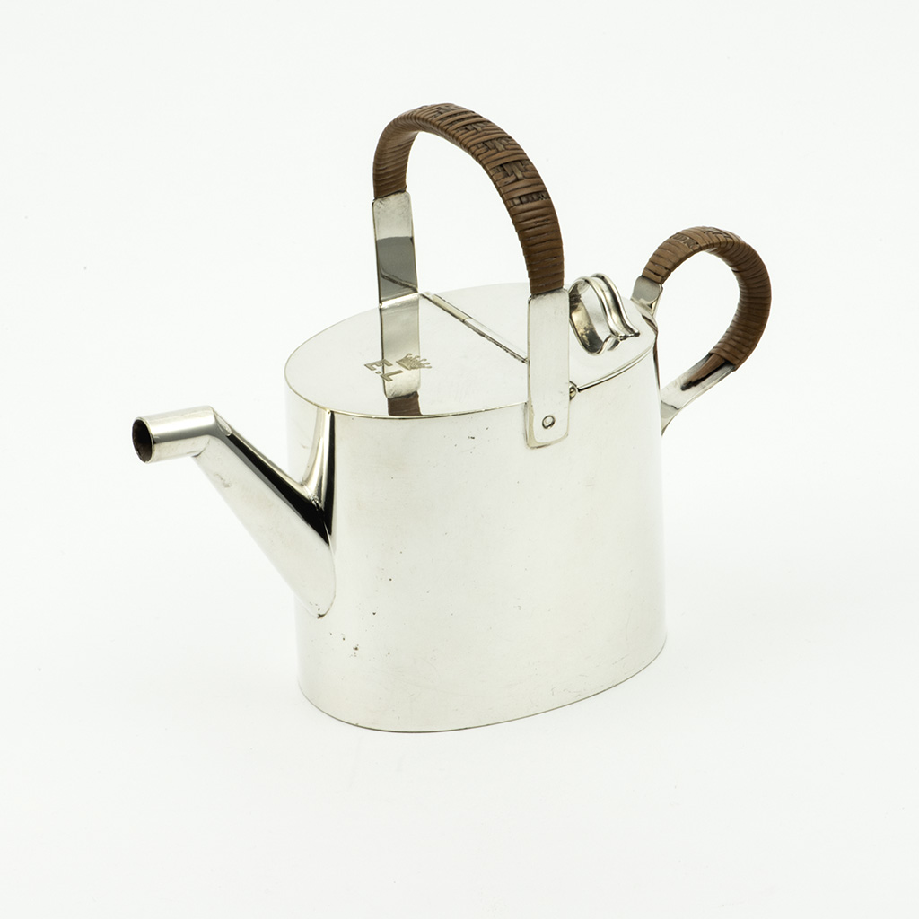 An Electroplated Victorian Water Jug By Hukin And Heath.