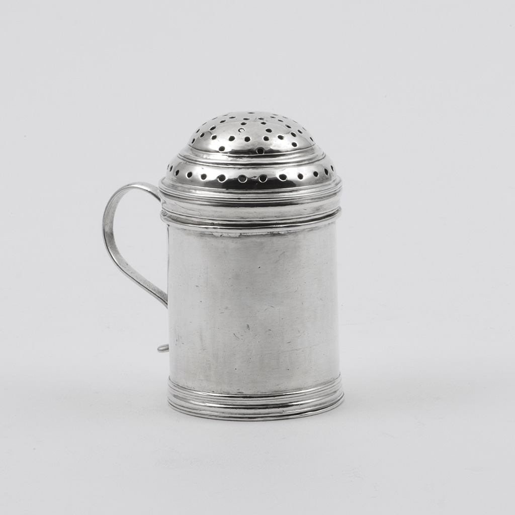 A George I Britannia Standard Silver Kitchen Pepper.