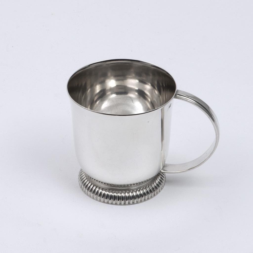A French Silver Child's Mug.