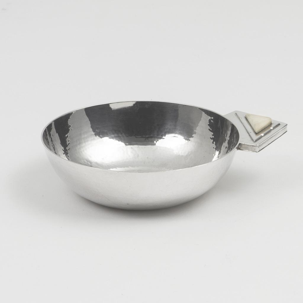 An Art Deco Silver Bowl By R.E. Stone.