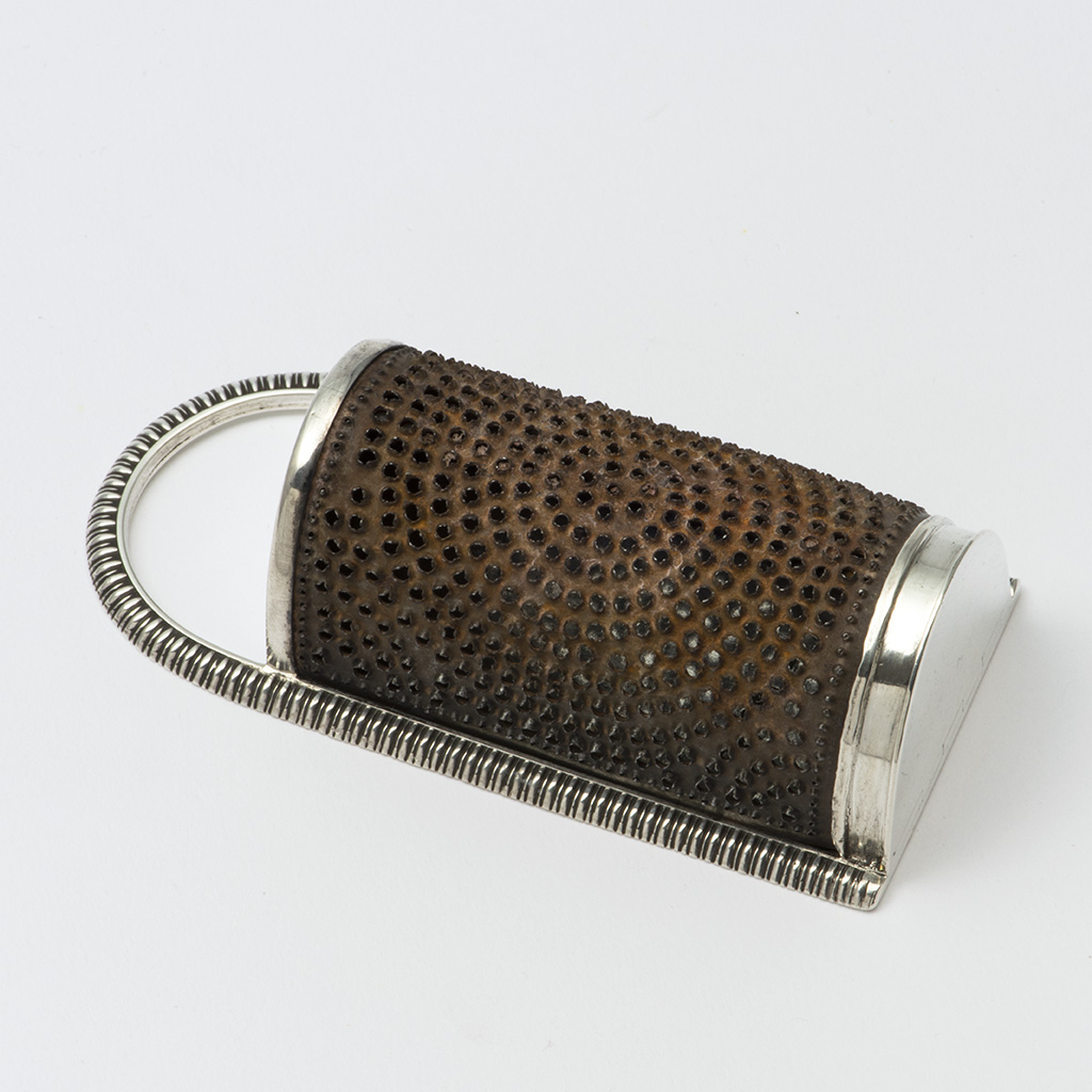 A George III Silver 'Kitchen' Nutmeg Grater.