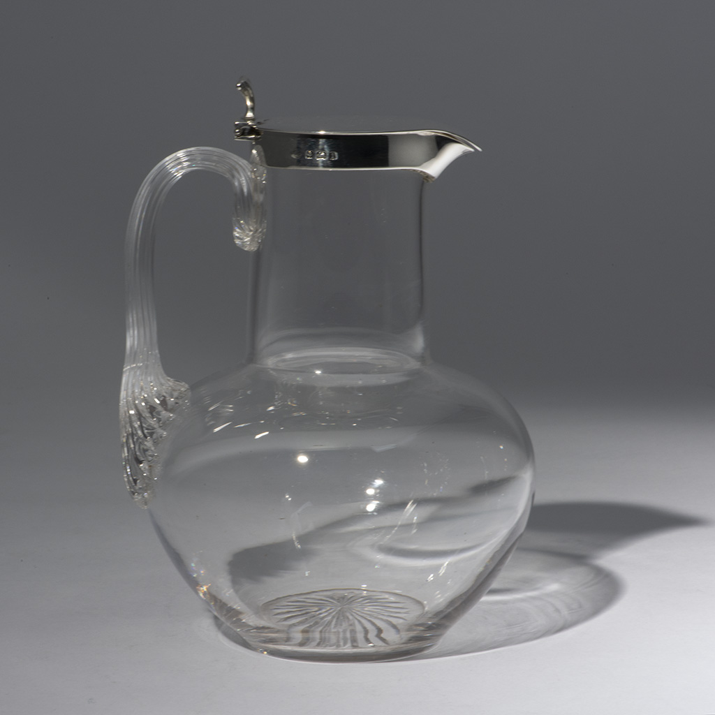 A Hukin And Heath Lidded Decanter.