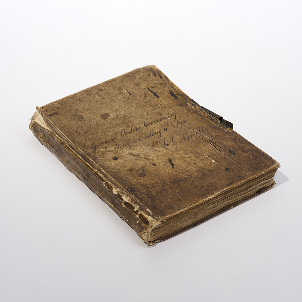 Napoleonic Wars. A Manuscript Book Entitled 'Adjutant General's Orderly Book', Malta 1807.