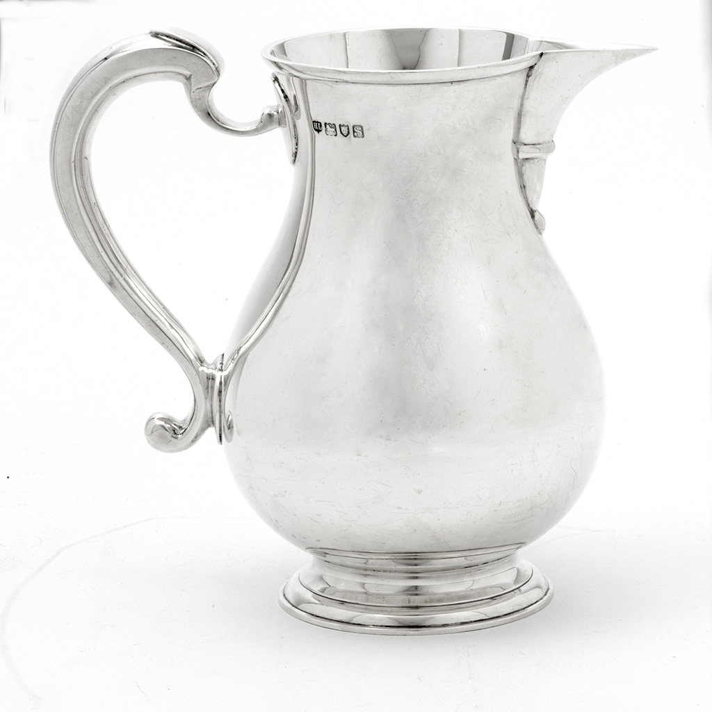 An Early 20th Century Copy Of An Early 18th Century Silver Beer Jug.